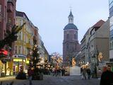 Празднично украшенные улицы Шпандау / Фото из Германии