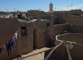 глиняный лабиринт касбаха / Фото из Марокко