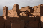 очередная глиняная крепость / Фото из Марокко