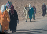 домой с рынка / Фото из Марокко