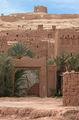 'фальшивые' ворота для 'Гладиатора' / Фото из Марокко