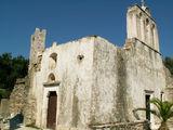 Наксос - церковь Панагия-Дросиани, IX век / Греция