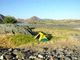 Поставили палатку / Фото из ЮАР