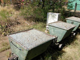 3 шахтерских вагонетки / Фото из ЮАР