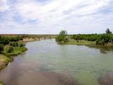 Пересекаем реку Вааль / Фото из ЮАР