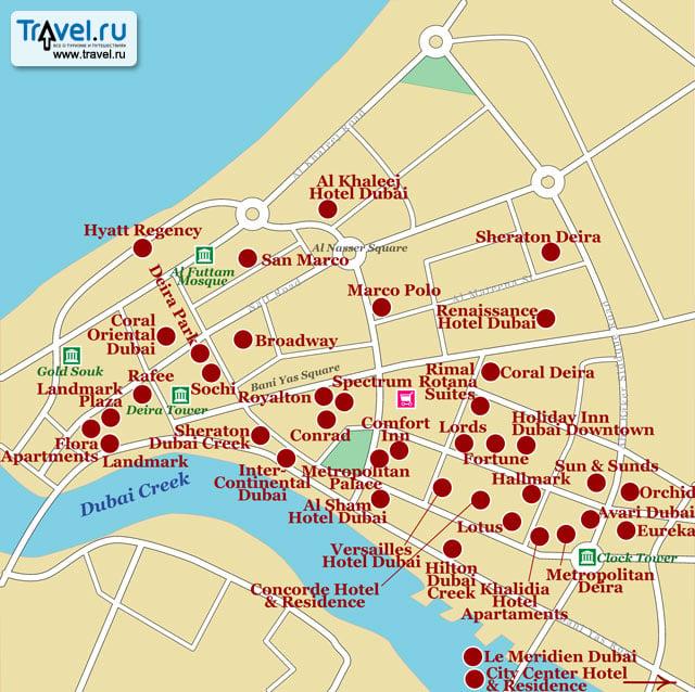Дубай дейра карта апартаменты в греции у моря купить
