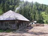 станция лесорубов / Румыния