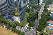 Сингапур с высоты 150 м / Сингапур