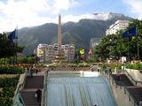 Стела с водопадом / Фото из Венесуэлы