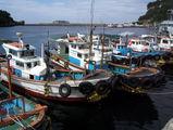 Рыбацкие и дайверские лодки / Фото из Южной Кореи