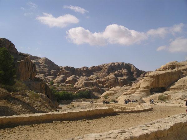 Дорога в Петру / Фото из Иордании