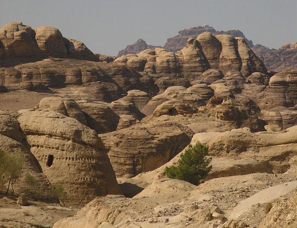 Панорама Вади-Муса / Фото из Иордании