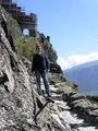 К замку - как на приступ / Фото из Швейцарии