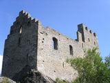 Все, что осталось от замка Турбийон / Фото из Швейцарии