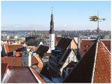 любимый всеми фотографами таллинский вид / Эстония