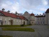 дворец 'галины' построен в XVI веке / Польша