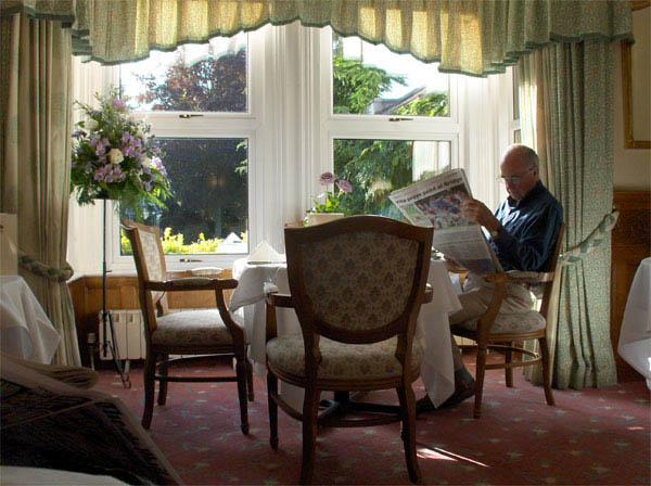 Уютный и светлый ресторанчик / Фото из Великобритании