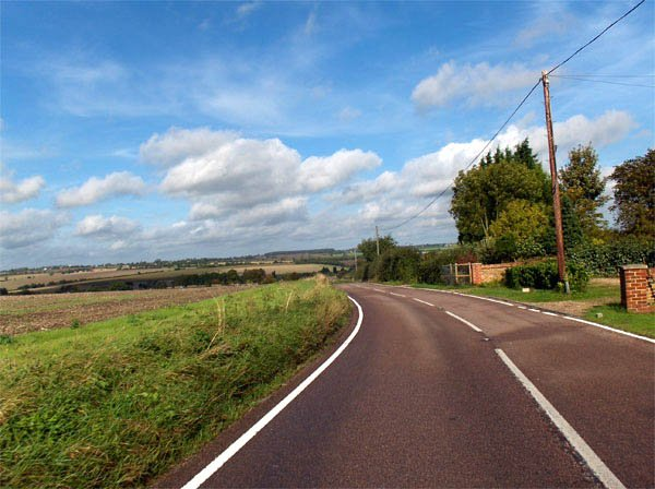 По дороге в Finchingfield / Фото из Великобритании
