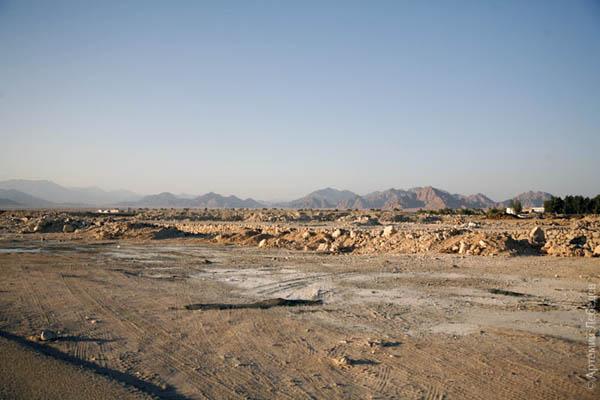 Унылая синайская пустыня / Фото из Египта