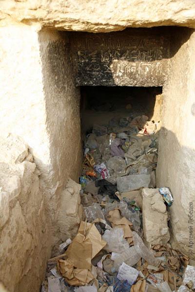 Свалка по совместительству / Фото из Египта