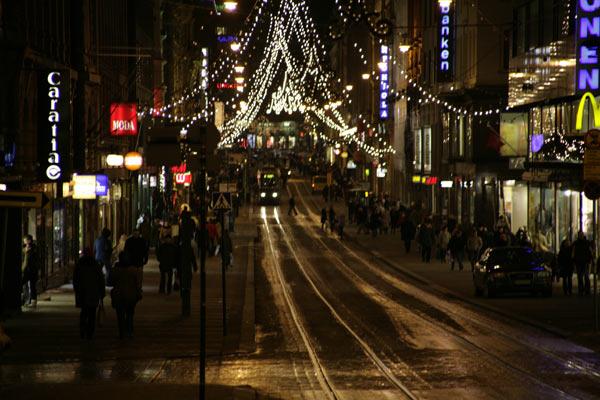 Трамвайные пути / Фото из Финляндии