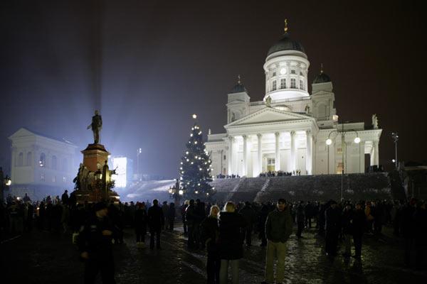 Главная площадь страны / Фото из Финляндии