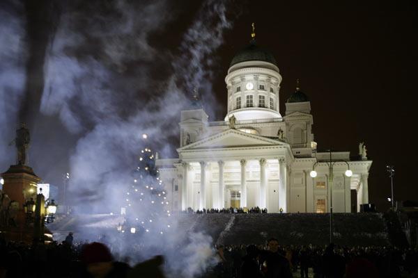 Ура! Новый год! / Фото из Финляндии