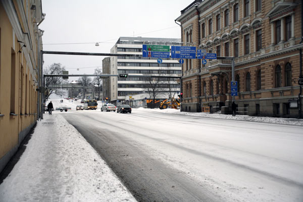 Улицы Турку / Фото из Финляндии