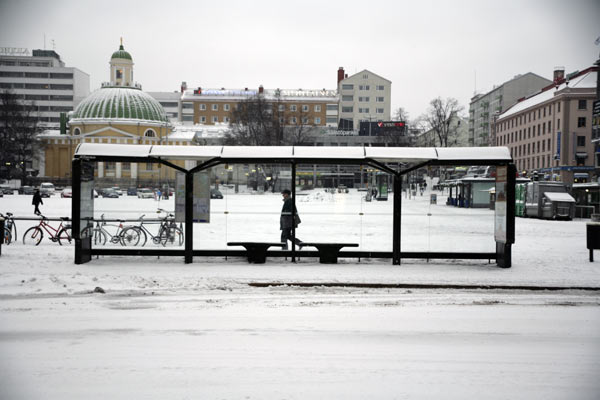 Кристально чистые остановки / Фото из Финляндии