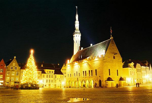 Ратушная площадь / Фото из Эстонии