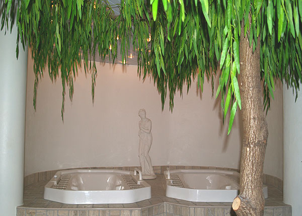Джакузи в spa-центре La Mira / Фото из Швейцарии