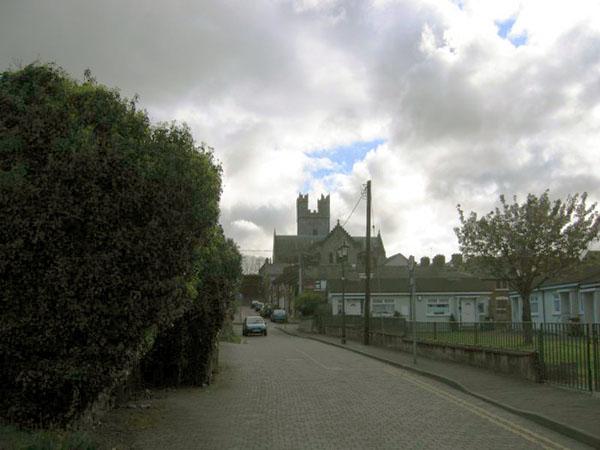 Здесь проходила городская стена / Фото из Ирландии