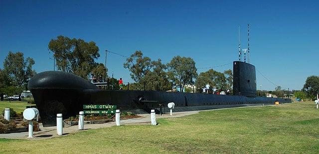 Подводная лодка / Фото из Австралии