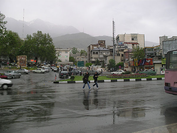 Тегеран под дождем / Фото из Ирана