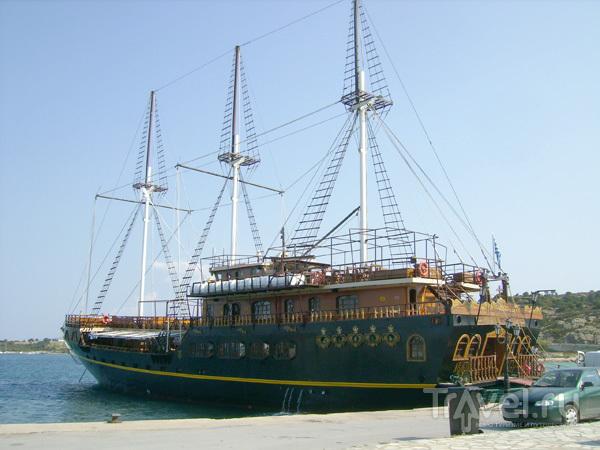 Круизный корабль / Фото из Греции