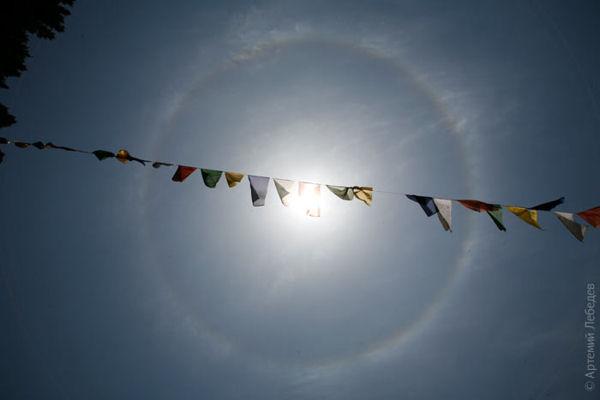 Гало / Фото из Бутана