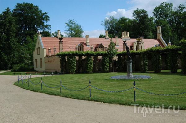 Часть замкового ансамбля Бранитц / Фото из Германии