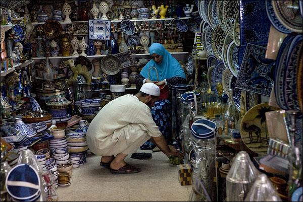 Торговцы / Фото из Туниса