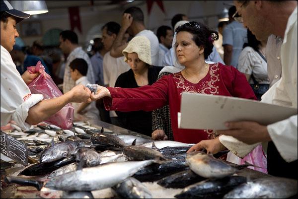 Центральный базар / Фото из Туниса