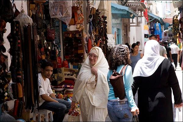 Восточный базар / Фото из Туниса
