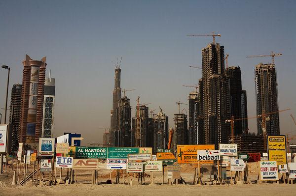 Дубай - большая стройка / Фото из ОАЭ