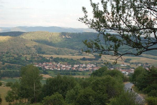 Поля и холмы / Фото из Болгарии