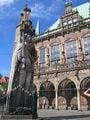 статуя роланда в бремене / Германия