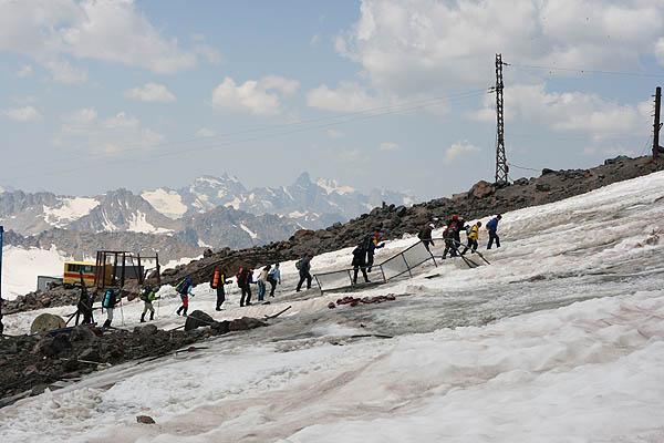 Группа альпинистов / Фото из России