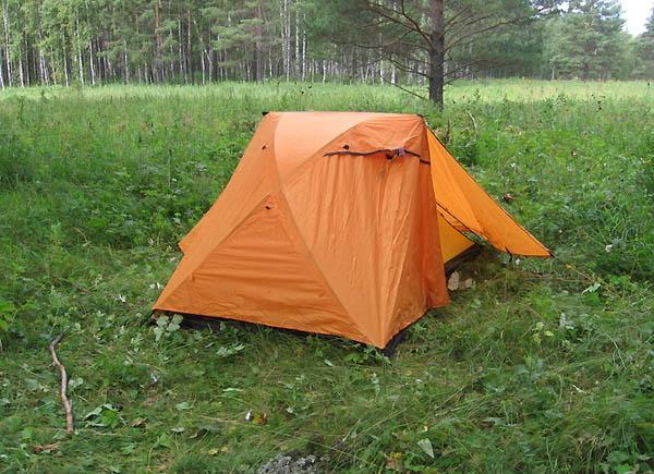 Ночевка в палатке / Фото из России