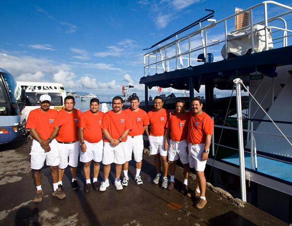 Экипаж шхуны / Фото из Коста-Рики