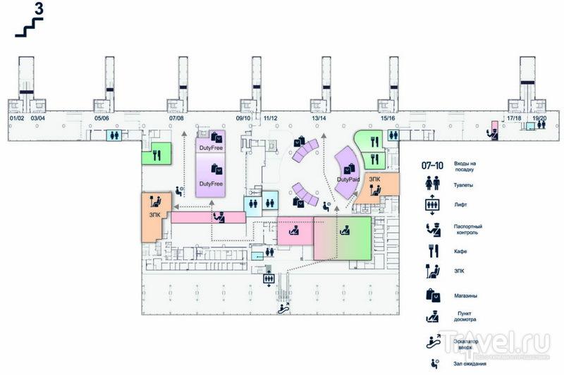 Третий этаж аэровокзала / Россия