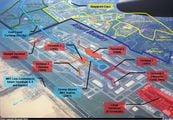 Схема аэропорта Changi / Сингапур