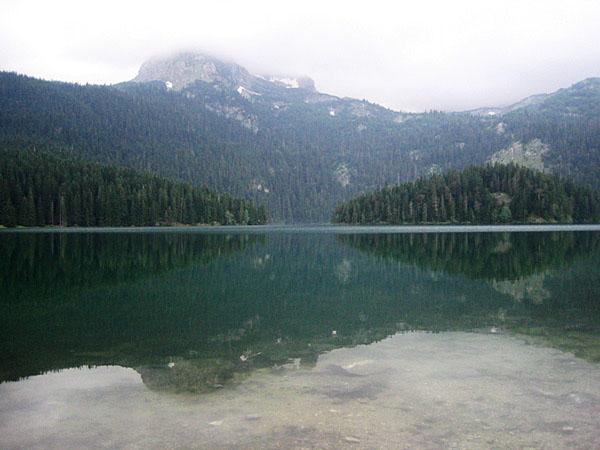 Черное озеро / Фото из Черногории