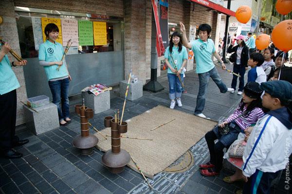 Уличные игры / Фото из Южной Кореи